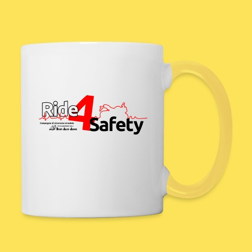 Ride4Safety - Tazze bicolor