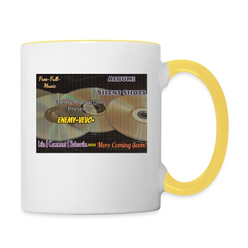 Enemy_Vevo_Picture - Contrasting Mug