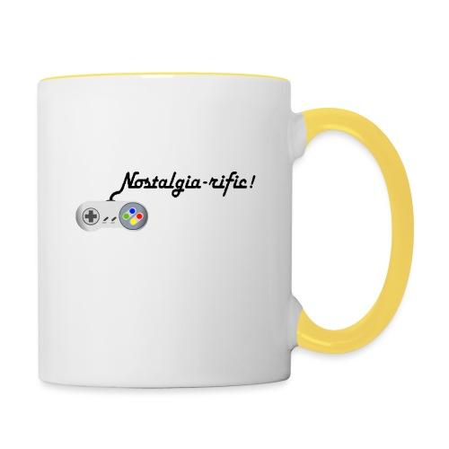 Nostalgia-rific! - Contrasting Mug