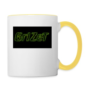 Grizet Merch - Tasse zweifarbig