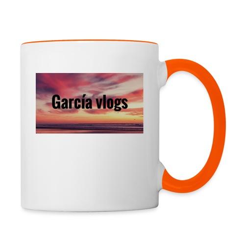 Garcíavlogs - Taza en dos colores