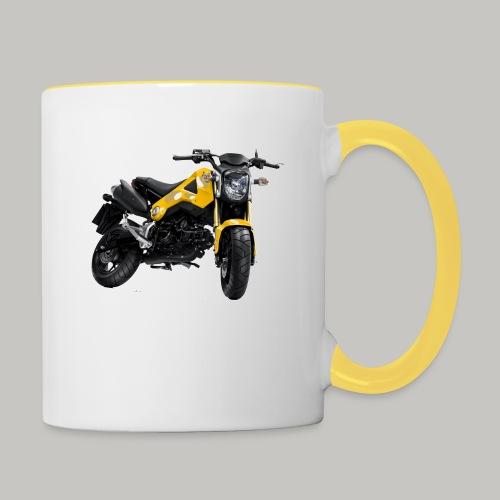 Grom Motorcycle (Monkey Bike) - Contrasting Mug