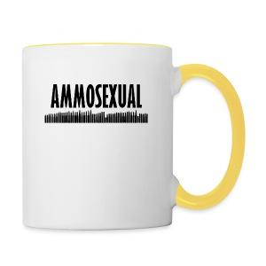Ammosexual (short basecap design) - Tasse zweifarbig