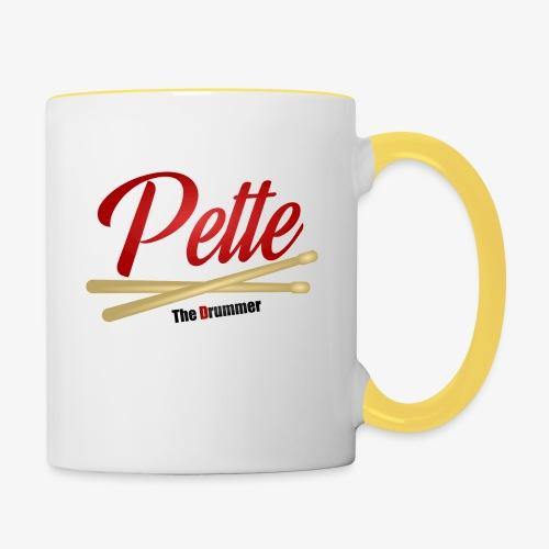 Pette the Drummer - Contrasting Mug