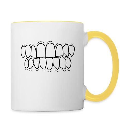 TEETH! - Contrasting Mug