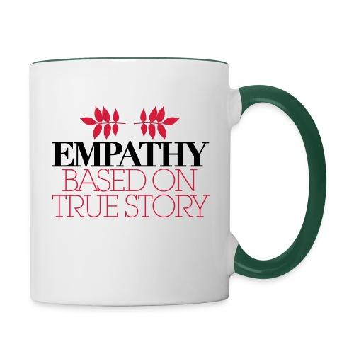 empathy story - Kubek dwukolorowy