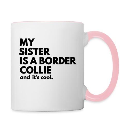 MSB_TEE_SISTER - Mug contrasté