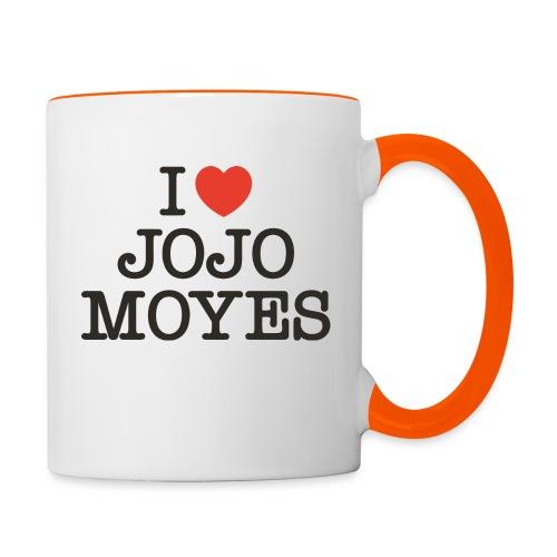 I LOVE JOJO MOYES - Tofarvet krus