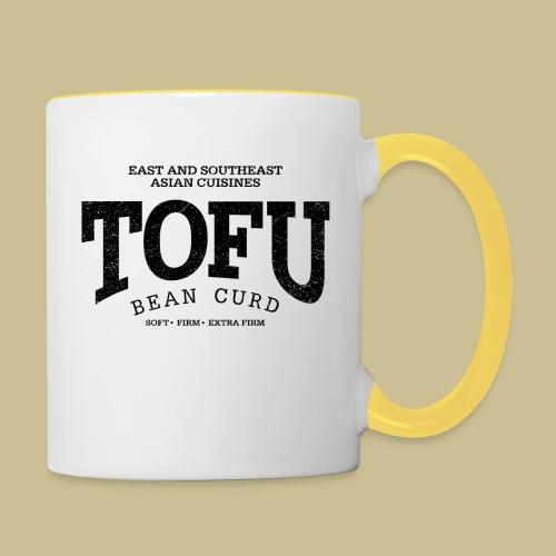 Tofu (black oldstyle) - Tasse zweifarbig