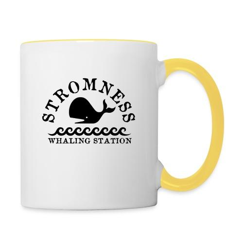 Sromness Whaling Station - Contrasting Mug