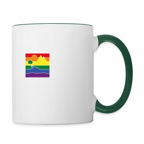 GOC Logo White Text - Contrasting Mug