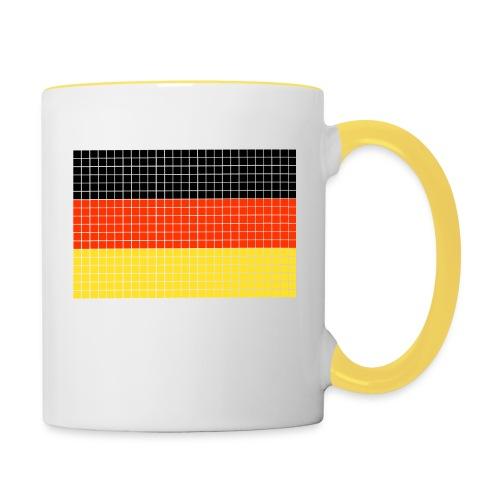 german flag.png - Tazze bicolor