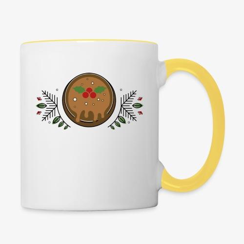 CHRISTMAS PUDDING - Contrasting Mug