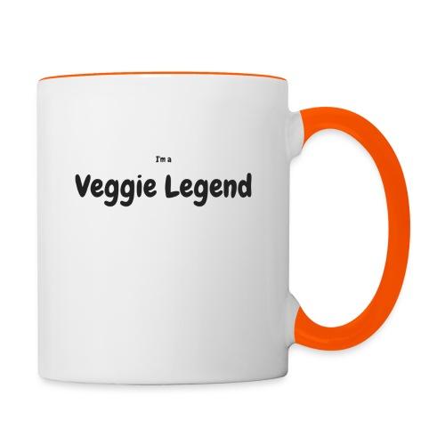 I'm a Veggie Legend - Contrasting Mug