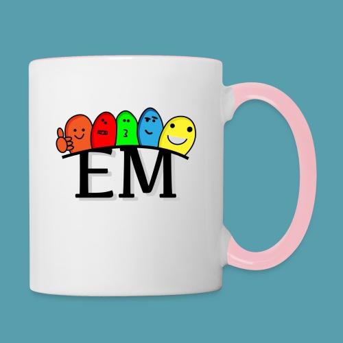 EM - Kaksivärinen muki