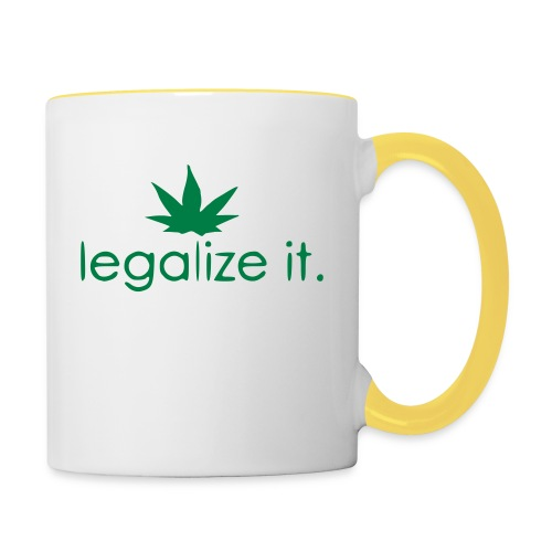 LEGALIZE IT! - Contrasting Mug