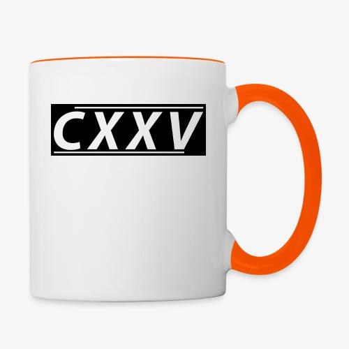 CXXV(Box Design) - Tvåfärgad mugg