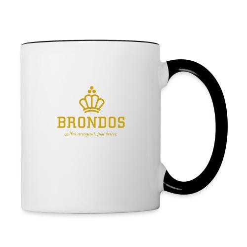 Brondos - Kaksivärinen muki