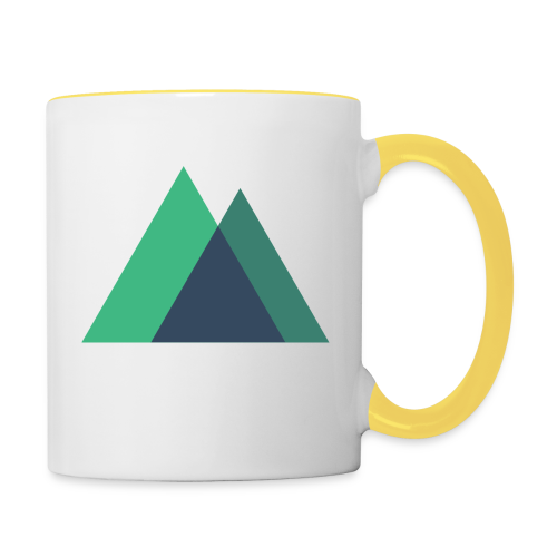 Mountain Logo - Contrasting Mug