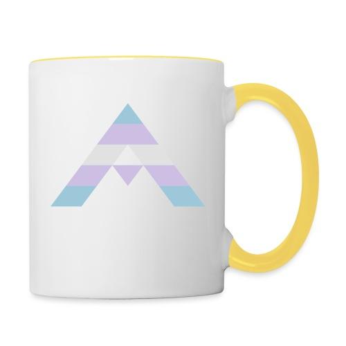 shirt_ally_trans - Tvåfärgad mugg