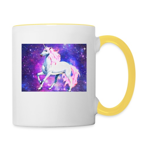 Magical unicorn shirt - Contrasting Mug