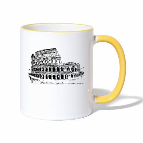 Kolosseum - Tasse zweifarbig