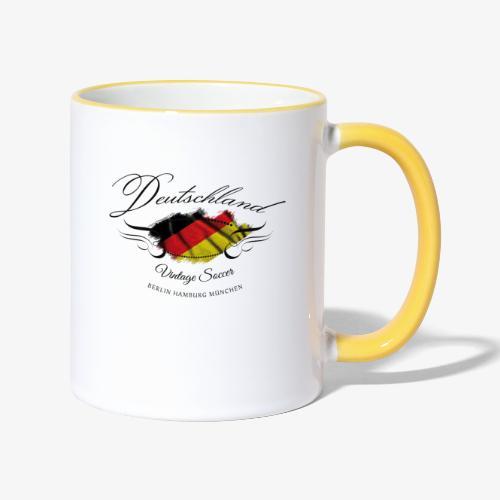 Vintage Deutschland - Tasse zweifarbig