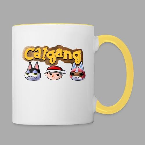Animal Crossing CatGang - Tasse zweifarbig