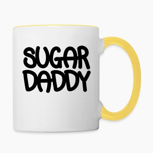 Sugar Daddy Zwart - Mok tweekleurig