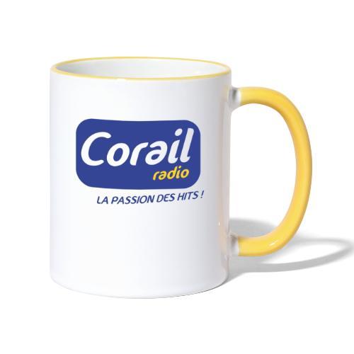 Logo bleu - Mug contrasté