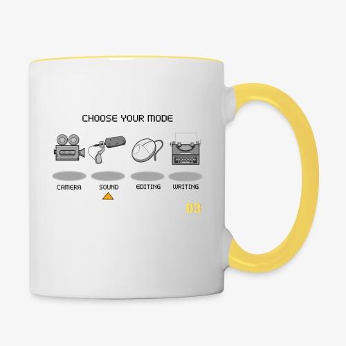 Sound/Black- Choose Your Mode - Contrasting Mug