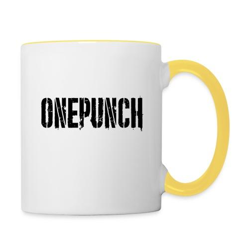 Boxing Boxing Martial Arts mma tshirt one punch - Contrasting Mug