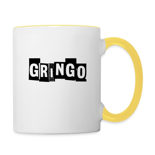Cartel Gangster pablo gringo mexico tshirt - Contrasting Mug
