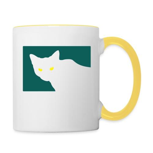 Spy Cat - Contrasting Mug