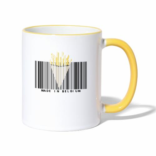 Made In Belgium - Mug contrasté