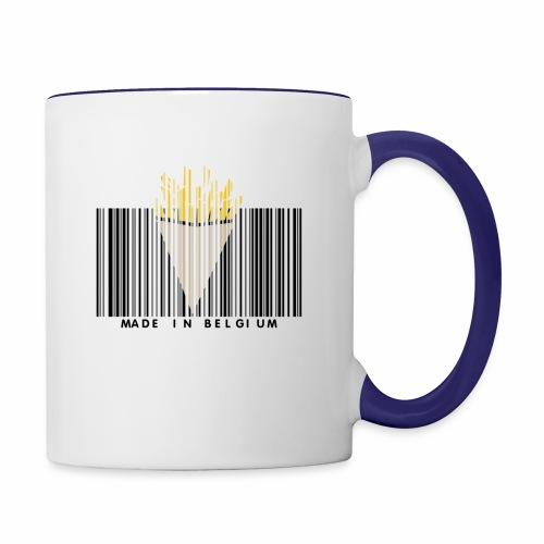 Made In Belgium - Mug contrasté