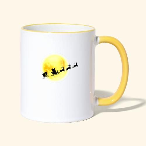 E.T. following Santa - Mug contrasté