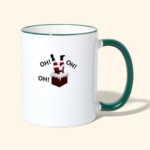 OH! OH! OH! - Mug contrasté