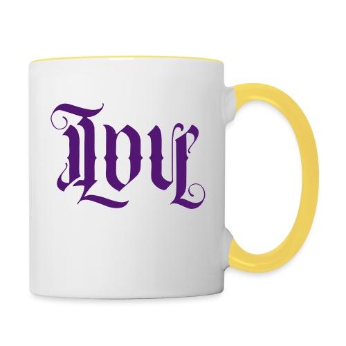 Love and hate - Contrasting Mug