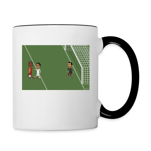 Backheel goal BG - Contrasting Mug