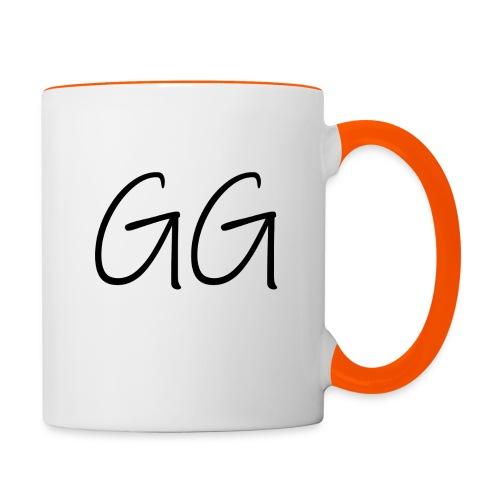 GG - Tasse zweifarbig