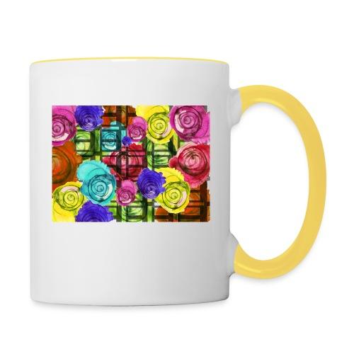 Pop Art - Tasse zweifarbig