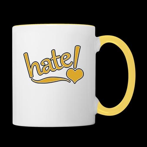 hate ! - Mug contrasté