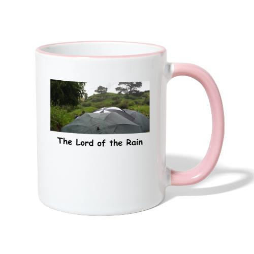 The Lord of the Rain - Neuseeland - Regenschirme - Tasse zweifarbig