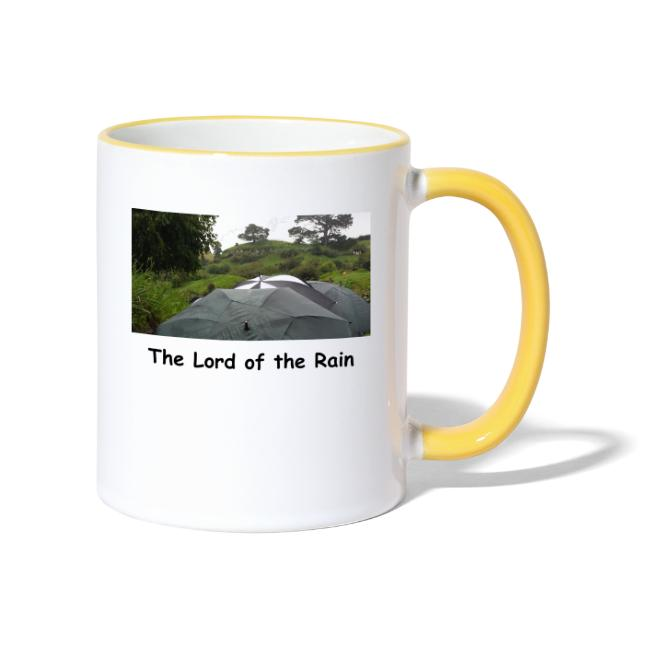 The Lord of the Rain - Neuseeland - Regenschirme