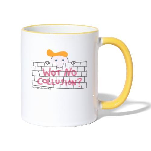 Trump's Wall - Contrasting Mug