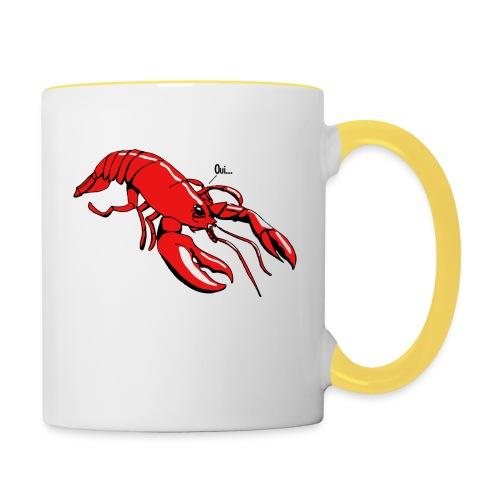 Lobster - Contrasting Mug