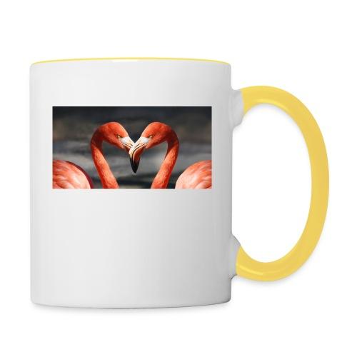 flamingo - Tasse zweifarbig