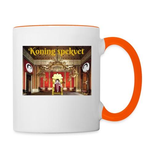 Koning Spekvet - Mok tweekleurig