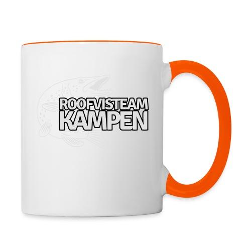 kampen - Mok tweekleurig